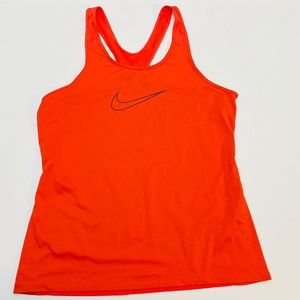 Nike Womans Dri Fit Logo Tank Top   SZ XL